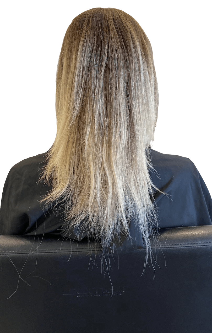 Haarverlängerung München - Bild nachher
